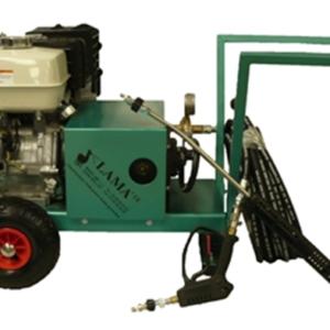 Nettoyeur thermique eau froide mobile, remorque, utilitaire, camion