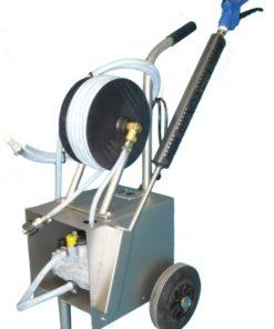 Pulvérisateur basse pression moussage et désinfection avec enrouleur Lama West Arc