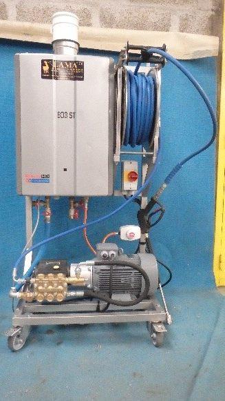 Lama West Arc - Nettoyeur et générateur eau chaude gaz