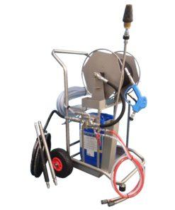 Lama West Arc - Chariot de lavage haute pression mousse et désinfection