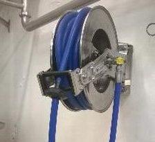 Lama West Arc - Enrouleur manuel inox nettoyeur haute pression