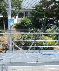 nettoyeur haute pression piste de lavage Lama West Arc