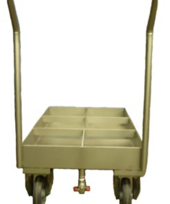 Chariot inox agroalimentaire Lama West Arc