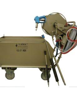Station de moussage avec combijector associé au surpresseur - Lama West Arc karcher