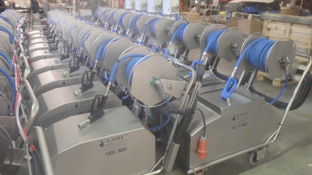 Nettoyeur haute pression en série solution nettoyage sur mesure West Arc Lama